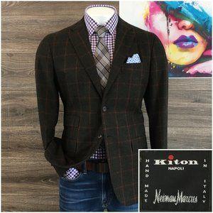 KITON Napoli 100% Cashmere Sport Coat Blazer Jacke